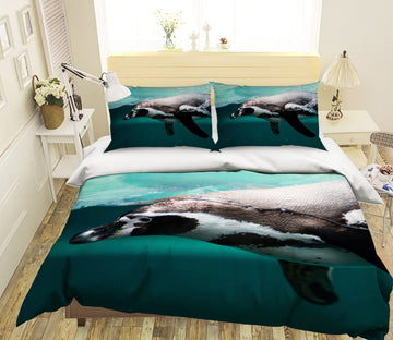 3D Deep Sea Dolphin 1984 Bed Pillowcases Quilt