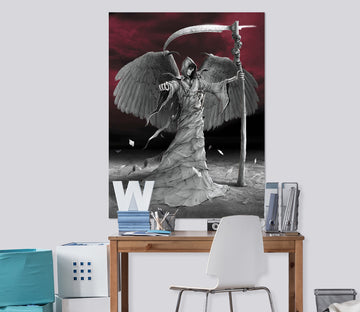 3D Time Is Up 083 Vincent Hie Wall Sticker