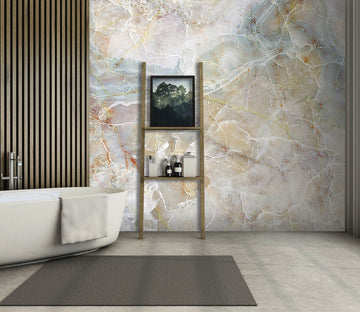 3D Fashionable Elegance 024 Marble Tile Texture Wallpaper AJ Wallpaper 2