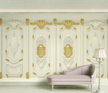 3D Simple Pattern WC154 Wall Murals