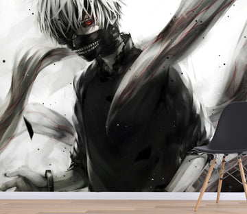 3D Tokyo Ghoul 061 Anime Wall Murals