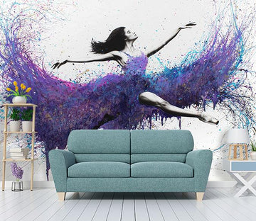 3D Beauty Dance 322 Wall Murals Wallpaper AJ Wallpaper 2