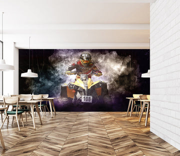 3D Motocross 1000 Vehicle Wall Murals