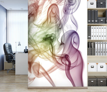 3D Color Smoke 101 Assaf Frank Wall Mural Wall Murals