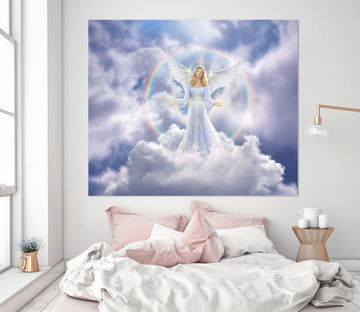 3D Angel 012 Jerry LoFaro Wall Sticker Wallpaper AJ Wallpaper 2