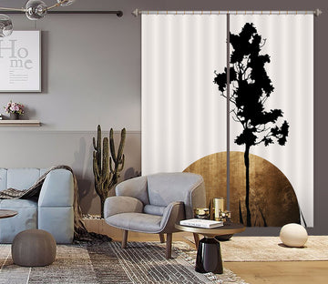3D Shimmering Shadows 1112 Boris Draschoff Curtain Curtains Drapes