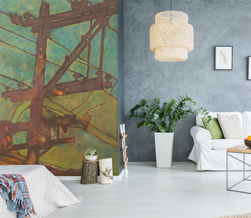 3D Quiet Night 266 Allan P. Friedlander Wall Mural Wall Murals