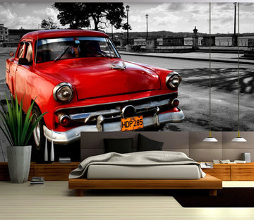 3D Cuba 976 Vehicle Wall Murals