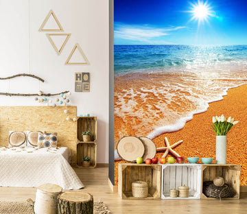 3D Beach Starfish 1001 Wall Murals
