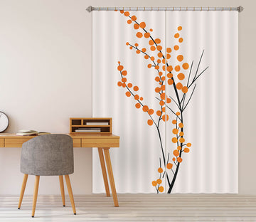 3D Flower Pattern 1139 Boris Draschoff Curtain Curtains Drapes