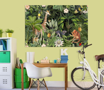 3D Animal World 037 Andrea haase Wall Sticker Wallpaper AJ Wallpaper 2