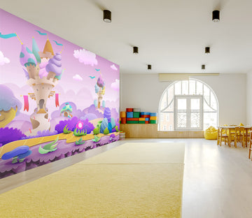 3D Villa Ice Cream 018 Wall Murals