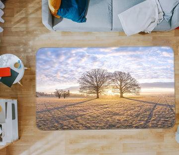 3D Sunset Tree 165 Assaf Frank Rug Non Slip Rug Mat