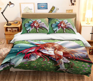 3D Sword Art Online 40 Anime Bed Pillowcases Quilt