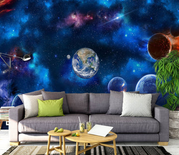 3D Earth Universe 1145 Wall Murals