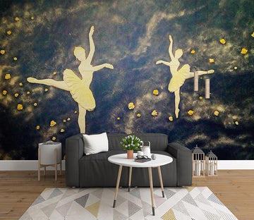 3D Dance 367 Wall Murals