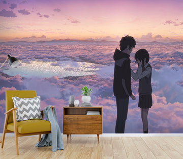 3D Your Name 074 Anime Wall Murals