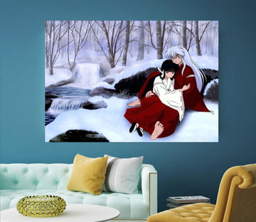 3D Inuyasha 042 Anime Wall Stickers