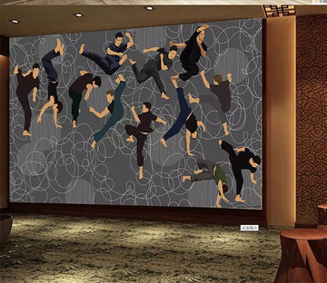 3D Boxing 1086 Wall Murals Wallpaper AJ Wallpaper 2