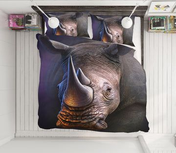3D Rhino 86051 Jerry LoFaro bedding Bed Pillowcases Quilt