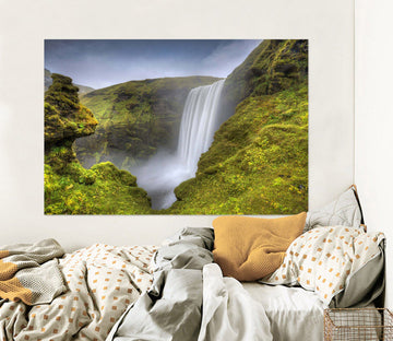 3D Alpine Waterfall 165 Marco Carmassi Wall Sticker Wallpaper AJ Wallpaper 2