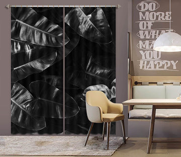 3D Growing Leaves 1143 Boris Draschoff Curtain Curtains Drapes