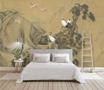 3D Black Mountain 2563 Wall Murals