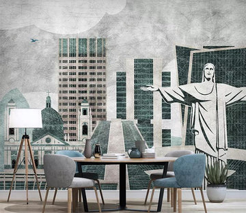 3D City Idol 502 Wall Murals