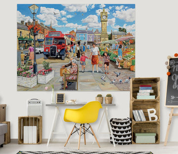 3D A Trip To The Shops 012 Trevor Mitchell Wall Sticker Wallpaper AJ Wallpaper 2