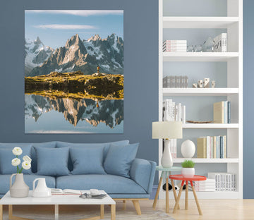 3D Snow Mountain 1007 Wall Sticker
