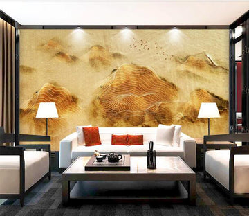 3D Mountain Pattern WC937 Wall Murals