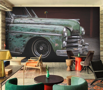 3D Heard Car 935 Vehicle Wall Murals