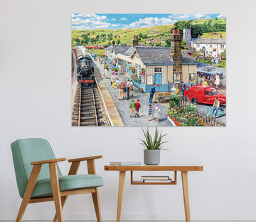 3D The Village Station 085 Trevor Mitchell Wall Sticker