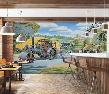 3D The Road Menders 1065 Trevor Mitchell Wall Mural Wall Murals