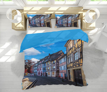 3D Colmar 020 Marco Carmassi Bedding Bed Pillowcases Quilt