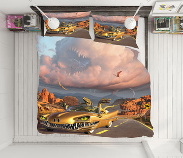 3D Rapt Patrol 18069 Jerry LoFaro bedding Bed Pillowcases Quilt
