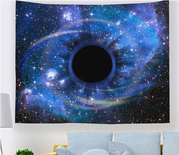 3D Black Vortex 2351 Tapestry Hanging Cloth Hang