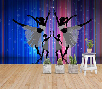 3D Dance To Tune 1493 Wall Murals