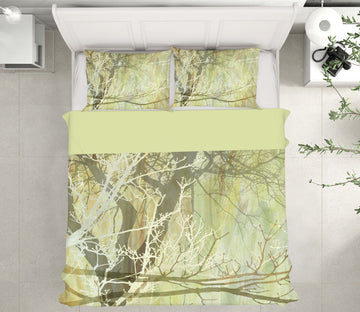 3D Tree Branches 107 Studio MetaFlorica Bedding Bed Pillowcases Quilt