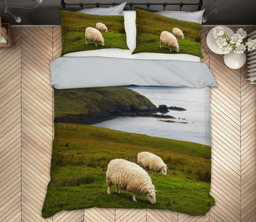 3D Scottish Sheep 1021 Jerry LoFaro bedding Bed Pillowcases Quilt