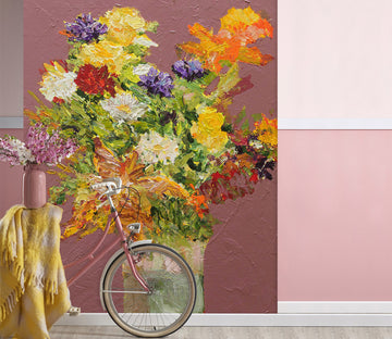 3D Beautiful Bouquet 258 Allan P. Friedlander Wall Mural Wall Murals