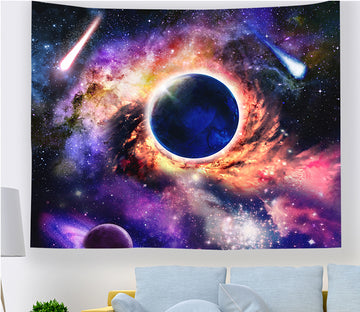 3D Color Planet 2352 Tapestry Hanging Cloth Hang