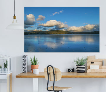 3D Blue Sky With Clouds 101 Jerry LoFaro Wall Sticker