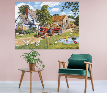 3D A Family Farm 003 Trevor Mitchell Wall Sticker Wallpaper AJ Wallpaper 2