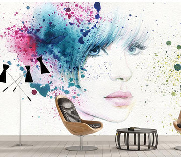3D Graffiti Avatar 388 Wall Murals