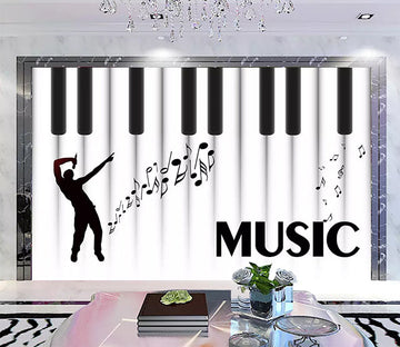 3D Play Music 1261 Wall Murals
