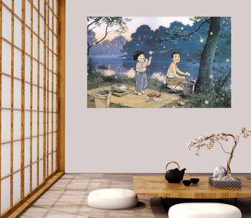 3D Grave Of The Fireflies 029 Anime Wall Stickers