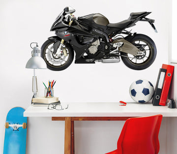 3D BMW Motorcycle Black 126 Vehicles Wallpaper AJ Wallpaper