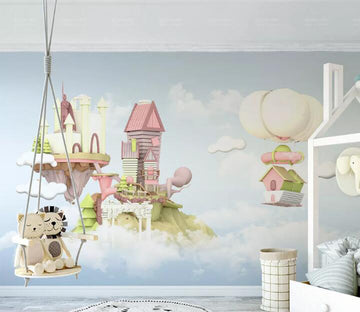 3D Color Castle WC259 Wall Murals