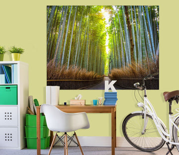 3D Bamboo Forest 135 Marco Carmassi Wall Sticker Wallpaper AJ Wallpaper 2